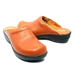 SANITA Waves Open Clogs Mules Size 38